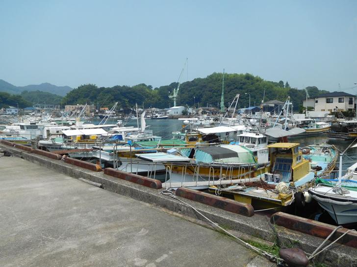 三津浜漁港