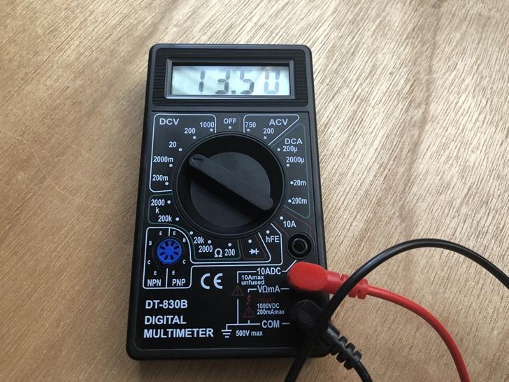WP-12-12バッテリーテスト1