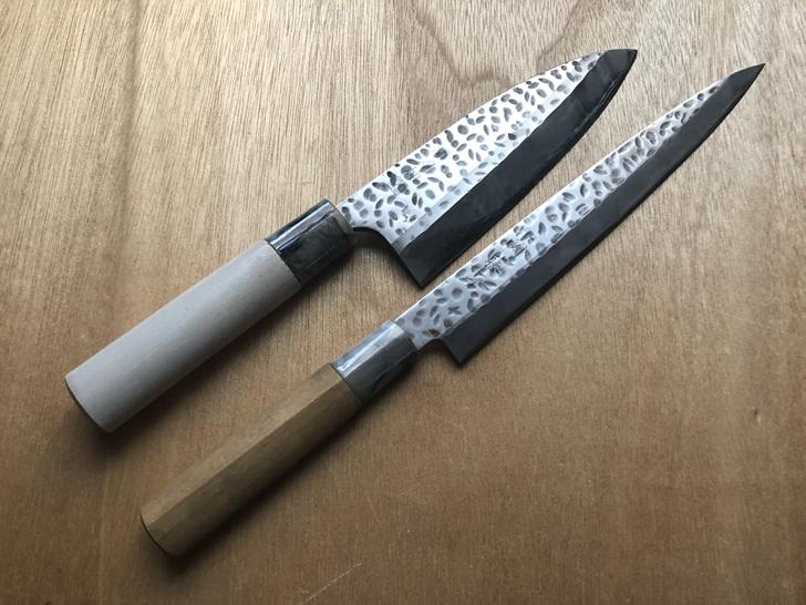 格安出刃包丁と刺身包丁