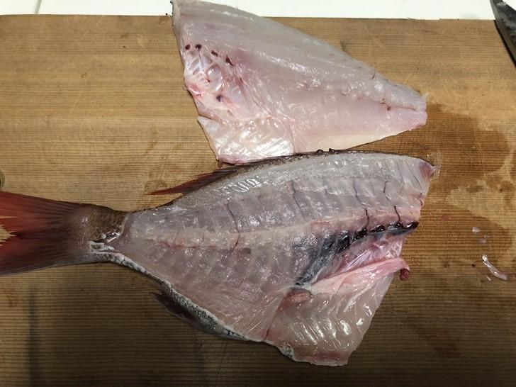 鯛の捌き方7