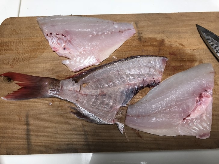 鯛の捌き方10