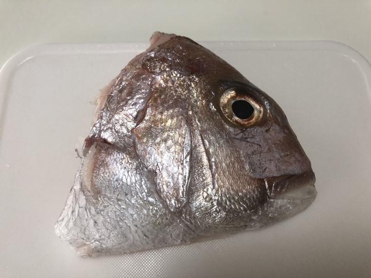 鯛の頭表側