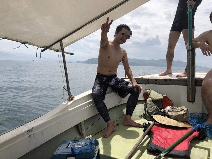 興居島海水浴