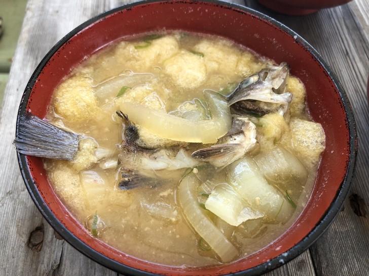 メバルのお味噌汁