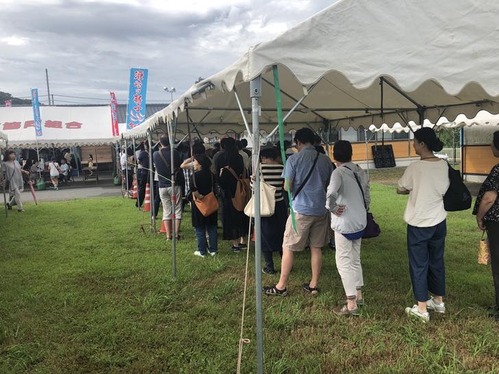 しんこ祭りの列